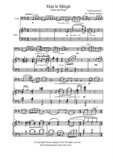 Slán le Máigh: para Violoncelo e piano by folklore