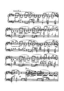 Sonata for Piano No.3, Op.23: movimento III by Alexander Scriabin