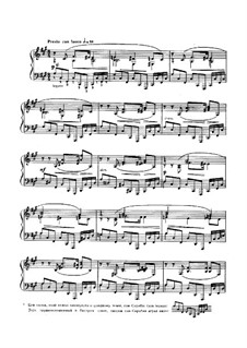 Sonata for Piano No.3, Op.23: Movimento IV by Alexander Scriabin