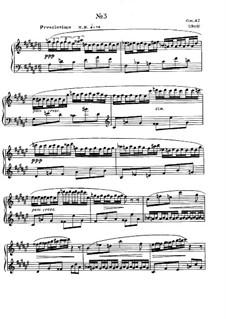 Eight Etudes, Op.42: Estudo No.3 by Alexander Scriabin