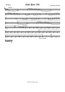 8nde Juni 793: Bass Bb part by Alexander Nævdal