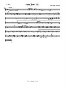 8nde Juni 793: Bass Eb part by Alexander Nævdal