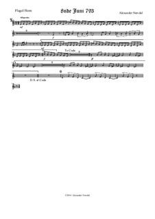 8nde Juni 793: Flugel horn part by Alexander Nævdal