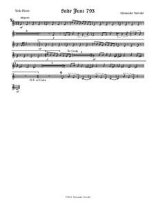 8nde Juni 793: Solo horn part by Alexander Nævdal