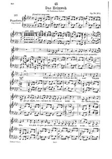 Das Heimweh, D.851 Op.79 No.1: Third version by Franz Schubert
