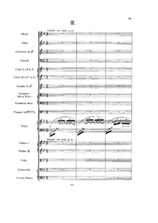 Symphony No.3 in F Minor 'Irish', Op.28: movimento III by Charles Villiers Stanford