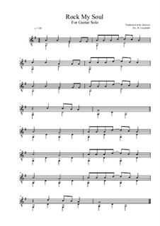 Rock-A-My-Soul: Para Guitarra by folklore
