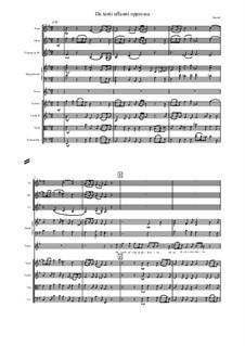 Admetus, King of Thessaly, HWV 22: Da tanti affanni oppressa by Georg Friedrich Händel