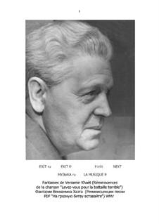 Fantasias (partitura e partes): Fantasias (partitura e partes) by Benjamin (Veniamïn) Khaèt