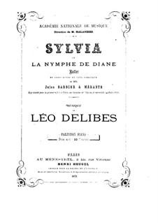 Sylvia: partitura para piano by Léo Delibes