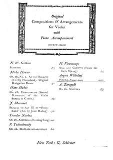 Paraphrase: para violino by Richard Wagner