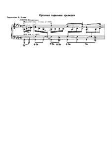 Ich ruf' zu dir, Herr Jesu Christ (I Call on Thee, Lord), BWV 639: Para Piano by Johann Sebastian Bach