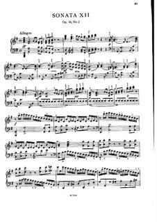 Three Sonatas for Piano, Op.35: No.2 em G maior, Craw 150 by Jan Ladislav Dussek