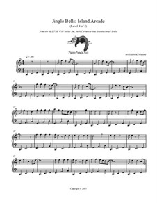 Jingle Bells: Island Arcade: Para Piano by James Lord Pierpont