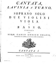 Lavinia a Turno: Lavinia a Turno by Carl Heinrich Graun