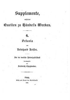 Octavia: Octavia by Reinhard Keiser