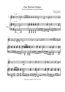 Our Eternal Father: Score for two performers (in F) by George William Warren, John Bacchus Dykes