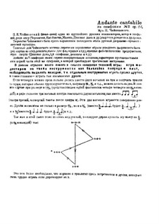 Movement II: Arrangement for balalaikas and domras by Pyotr Tchaikovsky