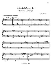 Manhã de Verão (Summer Morning): Manhã de Verão (Summer Morning) by Luiz Simas