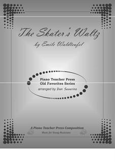 Skater's Waltz: Para Piano by Émile Waldteufel