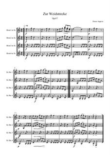 Zur Weidstrecke, Op.87: Zur Weidstrecke by Dieter Angerer