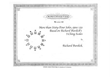 More than Sixty-Four Solos for Horn, Op.139: More than Sixty-Four Solos for Horn by Richard Burdick