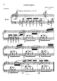 Douze études dans tous les tons mineurs (Twelve Etudes in All the Minor Keys), Op.39: Estudo No.10 by Charles-Valentin Alkan