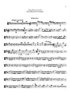 Overture: parte trombones by Daniel Auber
