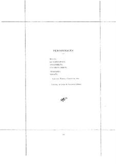 Briséïs: Briséïs by Emmanuel Chabrier