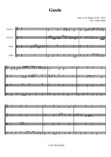 Grace, for String Quartet: Grace, for String Quartet by Simeon Butler Marsh