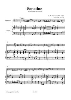 Sonatine: Sonatine by Georg Philipp Telemann