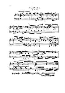 Three Sonatas for Piano, Op.10: No 2 em G menor, Craw 61 by Jan Ladislav Dussek