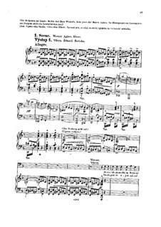 Tvrdé palice (The Stubborn Lovers), B.46 Op.17: cena I by Antonín Dvořák