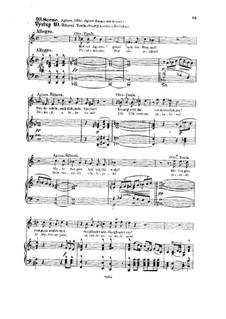 Tvrdé palice (The Stubborn Lovers), B.46 Op.17: Scenes X-XI by Antonín Dvořák
