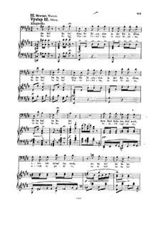 Tvrdé palice (The Stubborn Lovers), B.46 Op.17: Scenes XII-XIV by Antonín Dvořák