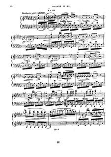Six suites d'etudes pour le pianoforte, Op.15: Suite II by Ferdinand von Hiller