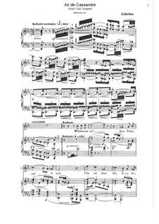 Les Troyens (The Trojans), H.133 Op.29: Malheureux Roi. Air de Cassandre by Hector Berlioz