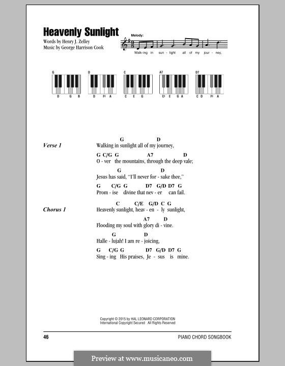 Heavenly Sunlight: Letras e Acordes by George Harrison Cook