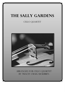 Down By the Sally Gardens: Para quarteto de violoncelo by folklore