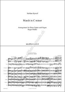 March in C minor: March in C minor by Halfdan Kjerulf
