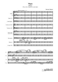 Mary. Fantasy for pops orchestra: Mary. Fantasy for pops orchestra by Maxim Lobunov
