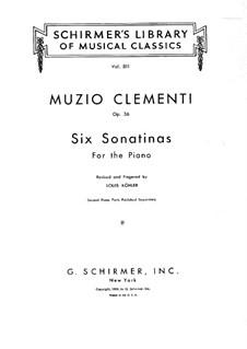 Complete set: Para Piano by Muzio Clementi
