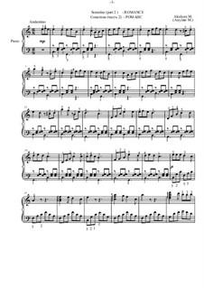 Sonatina C-dur, Op.4: parte II by Marina Akulyan