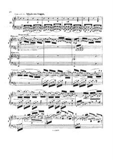 Concerto for Piano and Orchestra No.2 in F Major, Op.35: Movimento II. Version para dos pianos de quatro maõs by Anton Rubinstein
