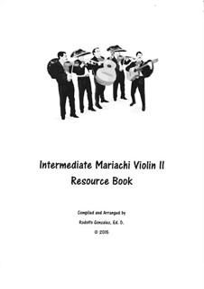 Intermediate Mariachi: For violin II by folklore