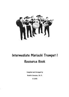 Intermediate Mariachi: For trumpet I by folklore