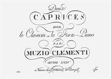 Two Capriccios for Harpsichord (or Piano): para um único musico (Editado por H. Bulow) by Muzio Clementi