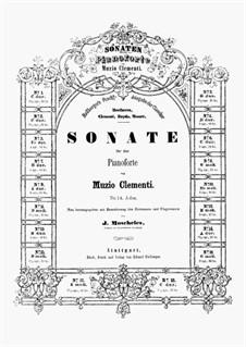 Three Sonatas, Op.50: Sonata No.1 by Muzio Clementi