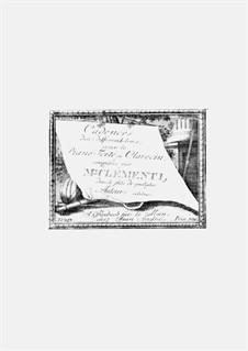 Cadences dans différent tons dan le style de quelques Auteurs célebres: Cadences dans différent tons dan le style de quelques Auteurs célebres by Muzio Clementi