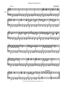 Boogie Woogie No.2 - Version 1, Op.6: Boogie Woogie No.2 - Version 1 by Marina Akulyan